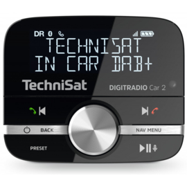 TechniSat DigitRadio CAR 2 DAB+ en Bluetooth adapter voor in de auto
