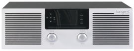 Tangent Elio stereo internetradio met DAB+/FM, Bluetooth, Spotify, CD-speler, aluminium-zwart