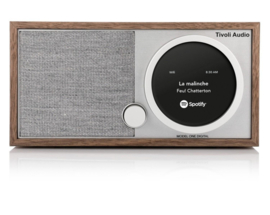 Tivoli Audio ART Model One Digital met internetradio, DAB+, FM, Spotify en Bluetooth, walnoot, OPEN DOOS