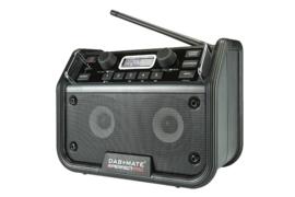 Perfectpro DAB+ MATE Stereo DAB+ en FM werkradio met Bluetooth