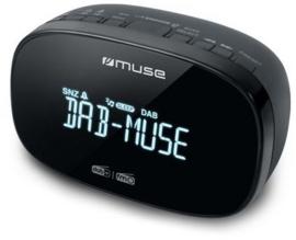 Muse M-150 CDB DAB+ en FM wekker klokradio met presets, OPEN DOOS