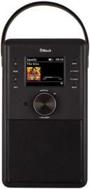 Block CR-10 ToGo! oplaadbare Smartradio met DAB+, internet, USB en Spotify, zwart