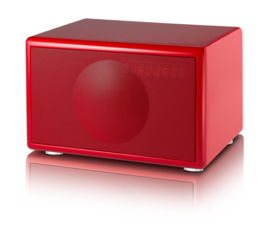 Geneva Classic /S hi-fi speaker met FM / DAB + radio, Bluetooth en alarmklok, rood