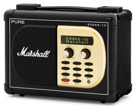 Pure Evoke-1S Marshall digitale DAB en FM radio