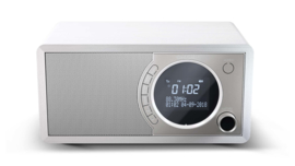 Sharp DR-450 stereo DAB+ radio met FM en Bluetooth, wit