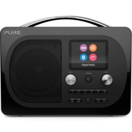 Pure Evoke H4 Prestige Edition draagbare DAB+, FM en Bluetooth radio, zwart, OPEN DOOS