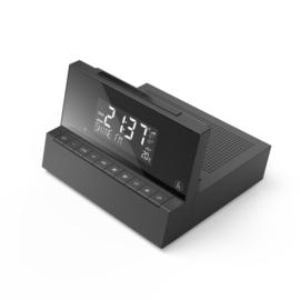 Hama DR35 DAB+ en FM wekker radio met temperatuur