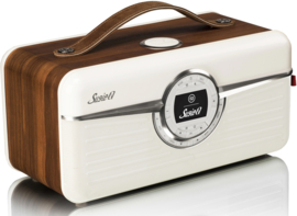 View Quest SUSIE-Q internetradio met DAB+, FM en Bluetooth, Walnut