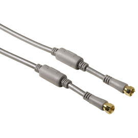 Hama antenne kabel, 2x F-connector, 150 cm