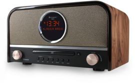 Soundmaster NR850 stereo retro DAB+ en FM radio met CD, Bluetooth en USB