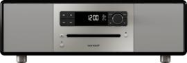 sonoro LOUNGE 2.1 stereo muzieksysteem met DAB+ en FM, CD speler, USB en Bluetooth, mat zwart