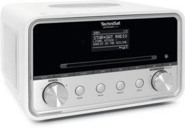 TechniSat DigitRadio 585 stereo internetradio met CD, USB, DAB+ en Bluetooth, wit