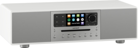 sonoro MEISTERSTÜCK SO-610 V4 stereo internetradio all-in-one muzieksysteem, wit