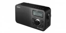 Sony XDR-S60 compacte retrostijl radio met FM en DAB+, in zwart