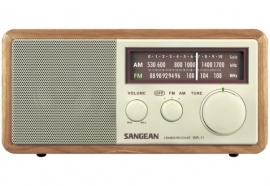 Sangean WR-11 (FM / AM, Walnoot)