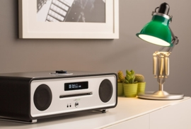 Ruark Audio R4 Mk3 IMS Stereo muziekcentrum met CD, DAB+, Bluetooth, FM en USB, Soft Black