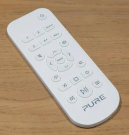 Pure afstandsbediening voor Evoke C-D4, C-D6, C-F6, wit