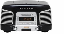 Teac SL-D930 retro 2.1 geluidssysteem met CD, radio en Bluetooth, zwart