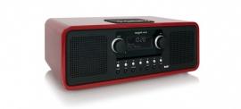 Tangent ALIO Stereo CD/DAB+ CD, FM en DAB+ radio en iPhone / iPod docking, rood