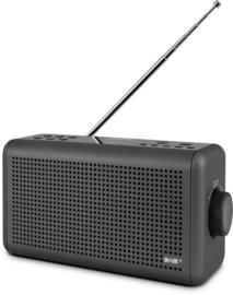 Nordmende Transita 210 stereo oplaadbare en draagbare DAB+ en FM radio met Bluetooth, antraciet