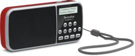 TechniSat TechniRadio RDR DAB+ en FM radio, audio afspelen via USB en analoge ingang, rood