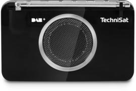 TechniSat DigitRadio 2GO Digital Radio DAB+ en FM, zakradio met luidspreker, OPEN DOOS