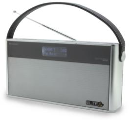Soundmaster Elite Line DAB750SI stereo DAB+ radio met Bluetooth en accu