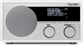 TechniSat DigitRadio 400 houten internetradio met DAB+ en FM, wit