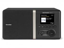 TechniSat DigitRadio 300C radio met DAB+ en FM, zwart