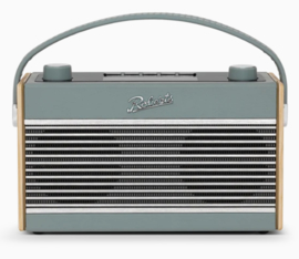 Roberts Rambler BT STEREO retro DAB+ radio met FM en Bluetooth, Duck Egg