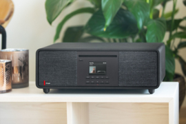 Pinell Supersound 701 DAB+ stereo radio met internet, Spotify Connect, Bluetooth en CD-speler