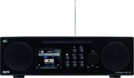 Imperial DABMAN i450 CD stereo 2.1 radio met internet, DAB+, CD, USB, Bluetooth, zwart