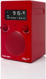 Tivoli Audio Model PAL+BT 2021 oplaadbare radio met DAB+, FM en Bluetooth, rood, OPEN DOOS
