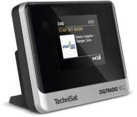 TechniSat DigitRadio 10 C mini stereo tuner met Bluetooth, DAB+ en FM voor stereo installaties