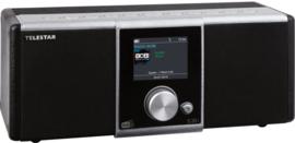 Telestar S 20i compacte DAB+ stereo radio met FM, Bluetooth en Internet