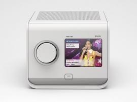 Revo PiXis DAB+ en FM radio met kleurenscherm, in wit
