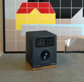 Tangent Spectrum stereo radio met DAB+/FM, Bluetooth, analoge ingang en wekkerradio functie, zwart