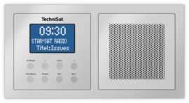Technisat DigitRadio UP 1 DAB+, FM en Bluetooth inbouwradio, zilver