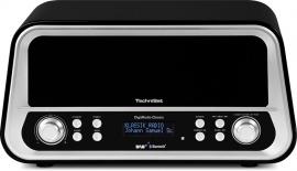 TechniSat DigitRadio Classic DAB+ en FM radio met Bluetooth, zwart