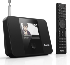 Hama DIT1000MBT stereo settopbox met internet, DAB+, Bluetooth en Spotify