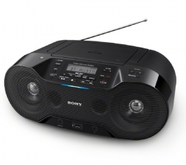 Sony draadloze boombox met CD / USB / DAB+ / FM / Bluetooth ZS-RS70BTB