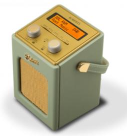 Roberts Revival Mini draagbare DAB+ FM radio, Leaf