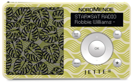 NordMende Transita 100 Jette Joop LEAF portable DAB+ en FM radio met  oplaadbare accu,