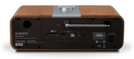 Roberts Blutune 200 stereo muziek systeem met CD, USB, Bluetooth, DAB+ en FM radio met opname, cherry