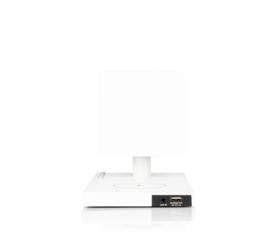 Tivoli Audio Revive Bluetooth luidspreker met lamp en Qi charging, wit