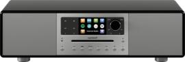 sonoro MEISTERSTÜCK SO-610 V4 stereo internetradio all-in-one muzieksysteem, zwart
