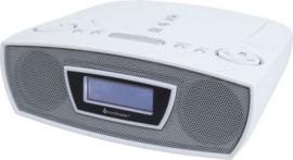 Soundmaster URD480WE stereo DAB+ en FM radio met CD en USB speler, wit