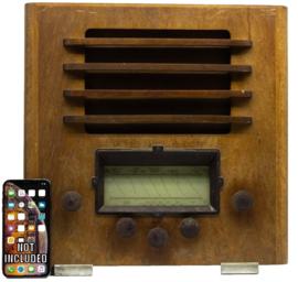 A.bsolument Nr. 875 - Echte Vintage Jaren 30 Radio met Bluetooth en audio ingang