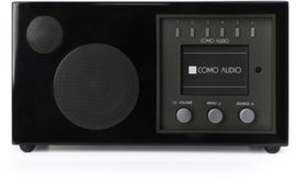 Como Audio Solo radio met wifi internet, DAB+, Spotify en Multi room, Piano Black, OPEN DOOS
