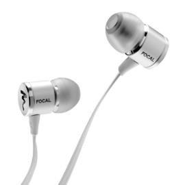Focal Spark Wireless Bluetooth in-ear stereo hoofdtelefoon, zilver